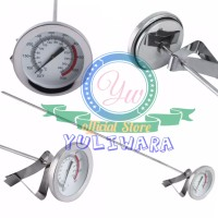 Termometer Mekanik Masak 30 Cm Pengukur Suhu Panas Minyak Makanan Air