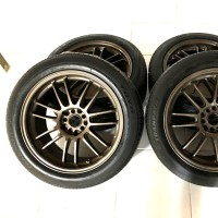 velg RAYS R18 spec innova reborn grand & CRV Xtrail & ban toyo 4 pcs