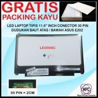 LCD LED Laptop Asus E202 11.6 Slim Conector 30 Pin