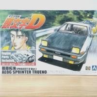 Aoshima 1/24 Initial D Fujiwara Takumi AE86 Sprinter Trueno Project D