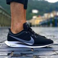 Sepatu Nike Zoom Pegasus 35 Turbo Black White Premium Original