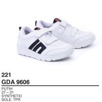 Garsel Shoes - Sepatu Sneakers Anak Laki laki GDA 9606 PUTIH