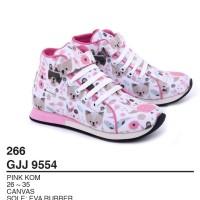 Garsel Shoes - Sepatu Snekaers Anak Perempuan GJJ 9554 PINKKOM