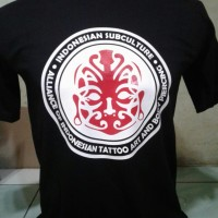 Tshirt Indonesia Subculture. Kaos Indonesia Subculture. Baju Tatos