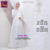 faira kids baju muslim anak remaja putih baju anak pesta