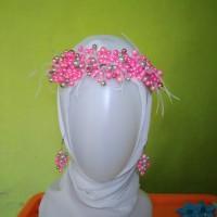 aksesoris headpiece hijab/no hijab