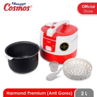 Cosmos Harmond CRJ-6288 - Rice Cooker 2 L (Red/Green/Blue)