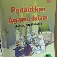 buku pendidikan agama Islam untuk SD kelas 5 Bse