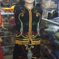 Baju Dayak // baju adat Kalimantan timur SMA - Dewasa