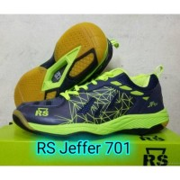 Sepatu Badminton Rs Jeffer 701 / RS JF 701 Original