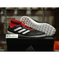 Sepatu Adidas Futsal Predator Tango 18.3 IN Black red DB2128 Original