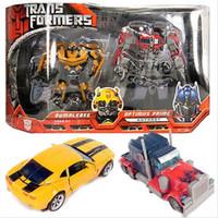 Mainan Robot Figure Bumblebee And Optimus Prime Transformers Autobot