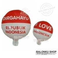 Balon Foil HUT RI / Hiasan Kemerdekaan / Balon Dirgahayu 17 Agustus