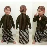 Paket hemat Surjan anak / satu set baju adat anak