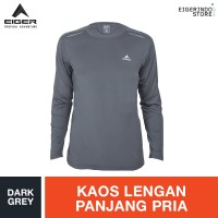 Eiger Pathfinder 2.0 Hiking T-shirt - Dark Grey KQ5