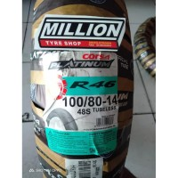 MILLION - CORSA PLATINUM R46 100/80 RING 14 BAN MOTOR TUBELESS MURAH