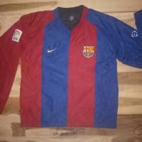 jacket jaket sweater reversible nike original fcb barcelona spanyol 05