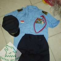 Kostum Profesi Anak TNI AU/ Baju Karnaval/ Baju Anak