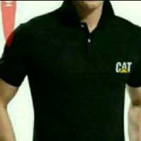 Kaos Kerah - Baju Polo shirt Caterpillar Trakindo