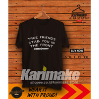 Kaos Baju Band Bring Me The Horizone True Friends Kaos Musik - Karimak