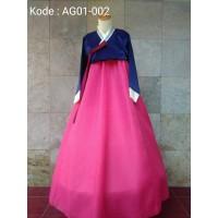 hanbok baju adat tradisional korea hambok hanbook handbok ag01 002