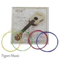 Senar Ukulele IRIN U104 Colorful Nylon - Original IRIN 1 set / 4 Senar