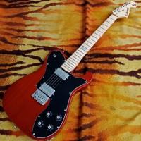 Gitar Elektrik Custom Fender Telecaster Deluxe Walnut Finish