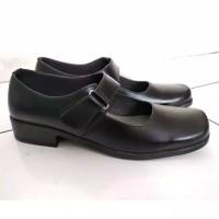 Sepatu pantofel wanita pantopel cewek fantofel paskibra warna hitam