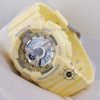 Jam Tangan Baby-G BA-110-9A Yellow BABYG BA110 BA-110 Kuning ORI BM
