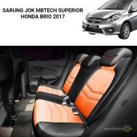 Sarung Jok / Cover Jok Mbtech Superior Honda Brio 2017