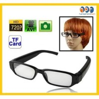Spy Cam Hd720 Video Camera Eyewear Kacamata Bening Kamera Tersembunyi