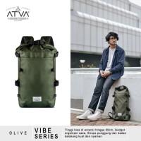 Tas Ransel Urban Rider Backpack Vintage Unisex Atva Vibe Olive