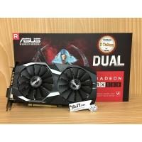 VGA Card PCI-E ASUS ATI RADEON RX 580 OC Edition 8GB DDR5 256BIT RESMI