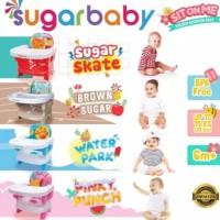 Sugar baby booster seat. Kursi makan bayi portable.Sugarbaby