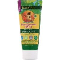 Badger Anti Bug Sunscreen SPF 34 87ml/Badger Active Anti-Bug balm