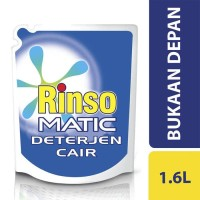 Rinso Detergent Liquid Front Load 1600Ml PALING MURAH
