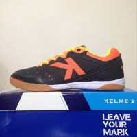 NEW Sepatu Futsal Kelme Feline Evo Black Orange 55818244 Or