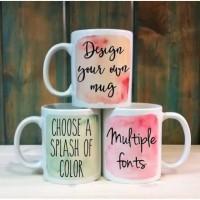 Custom mug souvenir satuan dan grosir bebas request gambar