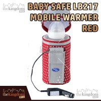 Baby Safe LB217 Mobile Warmer Red Penghangat Makanan Susu Bayi Travel