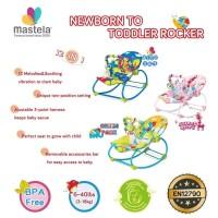 Bouncer Kursi Goyang Bayi Manual Mastela Newborn to Toddler Rocker