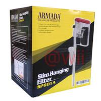 ARMADA SP601A hanging filter gantung hang on aquarium aquascape amara