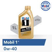 Oli Mesin - Mobil 1 0W-40 (1 liter)