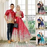 semisutra rabbani baju couple batik wanita muslim gaul masa kini