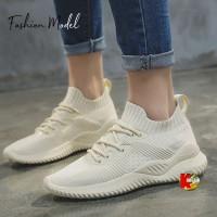 Sepatu Wanita Sneaker Kets Cewek Casual Sporty S90