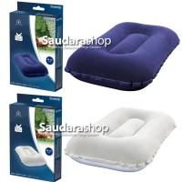 Bestway 67121 Flocked Air Pillow Portable / Bantal Angin / Bantal