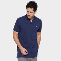 MON AKITA - Owen Men Polo Shirt Navy - Kaos Polo Biru Tua Pria