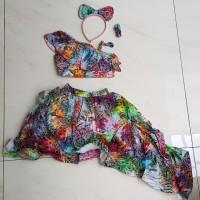 baju fashion show anak perempuan