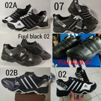 Sepatu Adidas AX2 HITAM LIST PUTIH