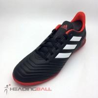 Sepatu Futsal Adidas Original Predator Tango 18.4 Black Red DB2136