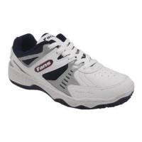 Sepatu Tennis Fans Veyron Badminton Pria Putih Hitam Merah Original